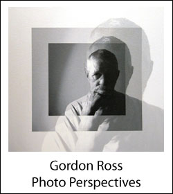 Self-portrait of Gordon Ross